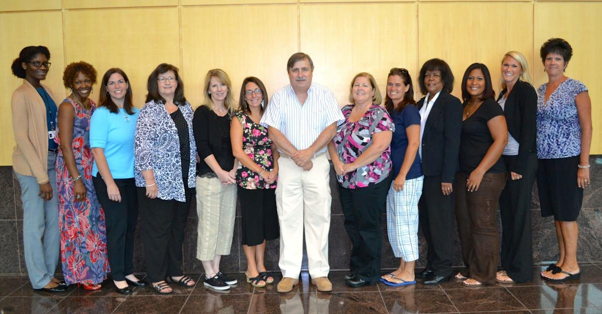 New Castle County Head Start administrative staff